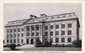 North Carolina Greensboro Guilford County Court House