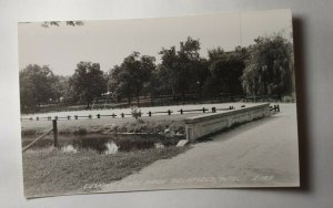 Delafield Wisconsin Cushing Memorial State Park Vintage Postcard Not Posted