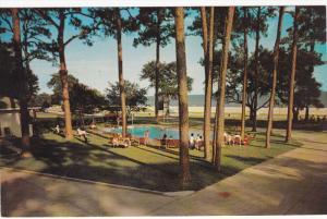 Swimming Pool at Sea Gull Motel , U.S. Highway 90 , BILOXI , Mississippi , 50...