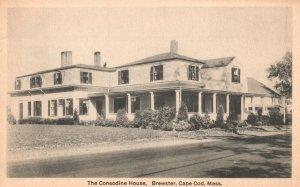 Vintage Postcard 1910's Consodine House Brewster Cape Cod Mass Dickerman & Son
