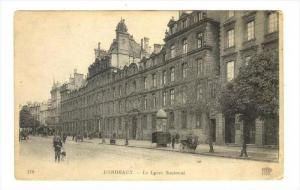 Le Lycee National, Bordeaux (Gironde), France, 1900-1910s