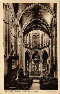 CPA Auxerre - Interieur de l'Eglise Saint-Eusebe FRANCE (960439)