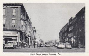 SOMERSET , Pennsylvania , 50-60s ; North Central Avenue