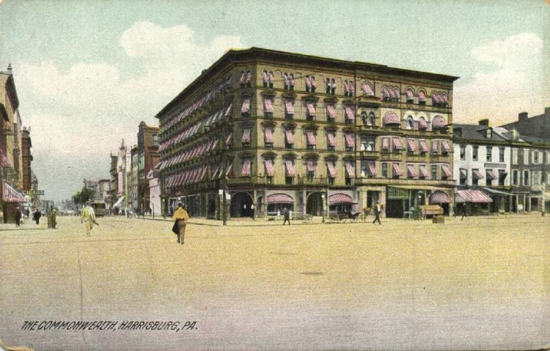 Harrisburg, Pa., The Commonwealth (1910s)