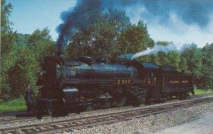 Canadian Pacific Railway Locomotive No 2317 Pacific Type 4-6-2
