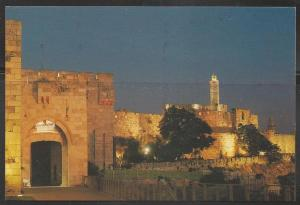 Israel, Jerusalem, City Outer Wall, unused