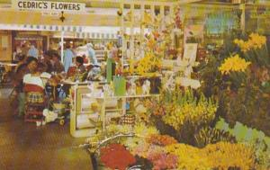 California Hollywood Original Farmers Market Flower Shop 1955