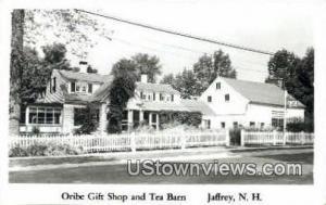 Oribe Gift Shop & Tea Barn Jaffrey NH Unused