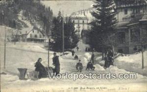 Aux Avants en Hiver Swizerland, Schweiz, Svizzera, Suisse  Aux Avants en Hiver