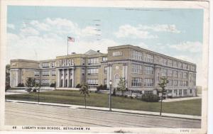BETLEHEM, Pennsylvania, PU-1935; Liberty High School