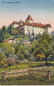 Switzerland Chateau de Blonay