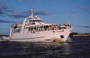 Cruise Ship, La Tournee, Lac Saint-Jean, Alma, Quebec, Canada, PU-1989