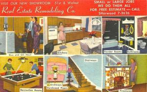 Philadelphia PA Real Estate Remodeling 6 Multiview Advertising Postcard
