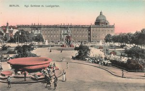 Royal Palace in Lustgarten, Berlin, Germany, Early Hand Colored Postcard, Unused