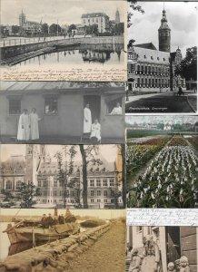 Netherlands Delft Deventer Marken And More Postcard Lot of 28 01.05
