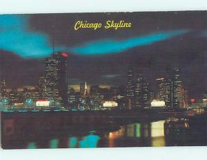 Unused Pre-1980 PANORAMIC VIEW Chicago Illinois IL H9912