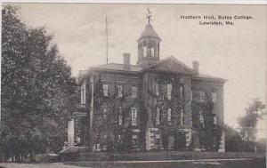 Maine Lewiston Hathorn Hall Bates College Albertype