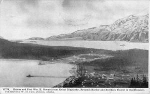Haines Alaska Pyramid Harbor Glacier Antique Postcard K83256