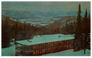 Idaho Schweitzer , Handsome Rustic Ski-Lodge