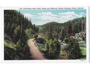 Bear Creek Canyon & Highway Denver Mountain Park Summer Cottages & Resorts