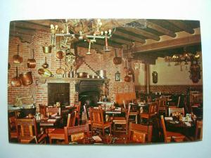 pre-1980 LA CANTINA AT LA FONDA RESTAURANT Santa Fe NM Unused Postcard y7720