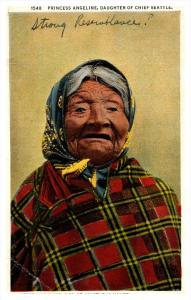 3593  Princess Angeline, Daughter of Chief Seattle
