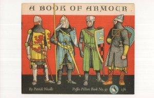 A Book Of Armour Patrick Nicolle 1954 Book Postcard