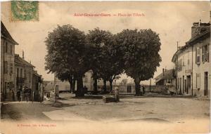 CPA St-GENIX-sur-GUERS - Place des Tilleuls (352276)