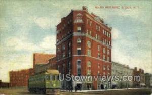 Mann Building Utica NY Unused
