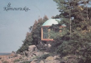 KAMOURASKA, Quebec, Canada, PU-1986 ; Observation Post