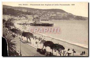 Postcard Old Nice Promenade des Anglais and Jetee Promenade