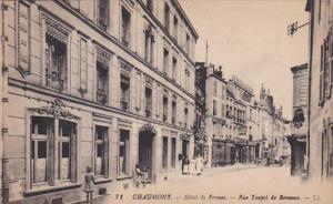 France Chaumont Hotel de France Rue Toupot de Beveaux