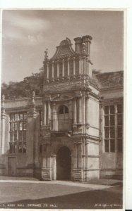 Northamptonshire Postcard - Kirby Hall - Entrance to Hall - Ref TZ2634