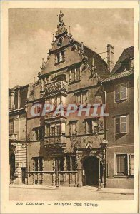 302 Old Postcard Colmar heads home