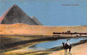 Pyramiden von Gizeh Egypt, Egypte, Africa Unused