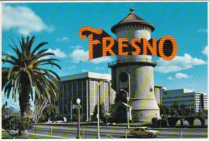 California Fresno Water Tower