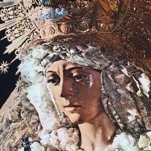 Vintage Collectible Post Card Sevilla 5376 - Nuestra Senora de la Esperanza
