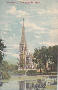 KOBENHAVN, Denmark, 1900-1910s; Den Engelske Kirke