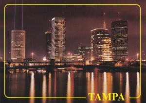 Downtown at Night Tampa Florida