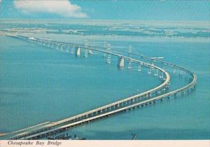 Maryland Aerial View Chesapeake Bay Bridge