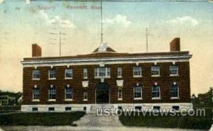Armory Haverhill MA postal used unknown
