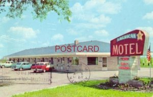 1958 AMERICAN MOTEL on US 41 KENTLAND, IN. Mr & Mrs E G Goyette, Owner
