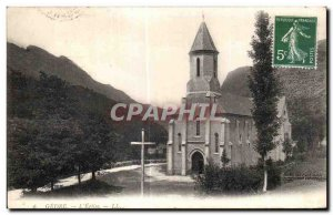 Old Postcard The Church Gedre