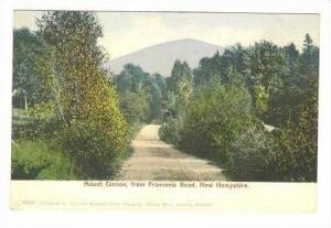 Franconia Road & Mount Cannon, New Hampshire, 1907