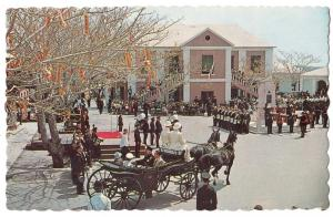 peppercorn ceremony, Market Square, St Georges, Bermuda