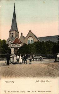 CPA VOORBURG Ned. Herv. Kerk NETHERLANDS (602172)