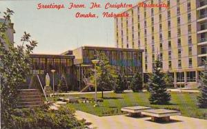Nebraska Omaha Greetings From The Creighton University