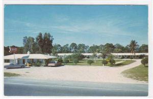 Sunset Plaza Motel US 41 Fort Myers Florida postcard