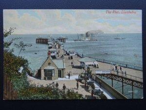 Wales LLANDUDNO The Pier c1909 Postcard by Valentine