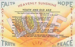 Youth and Old Age,  Happy Hearts Club, Aberdeen, Washington,  30-40s